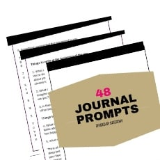 image of documents for download 48 things to write in a journal printable downloads