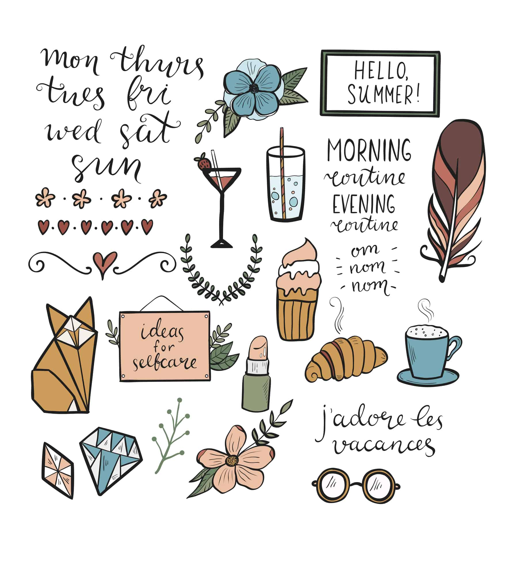image of self care ideas for how to start a self care journal