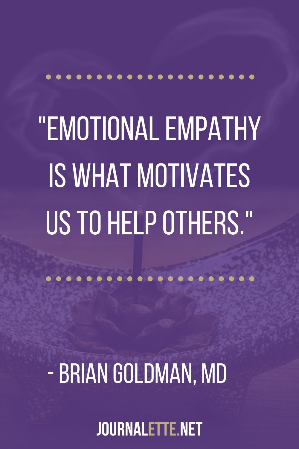 empath quote by brian goldman