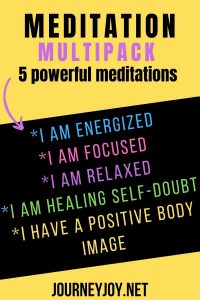 image of text box meditation multipack 5 powerful meditations
